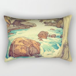 The Walk to Hokodoyama Rectangular Pillow