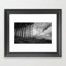 Timber! Framed Art Print