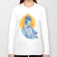 cinderella Long Sleeve T-shirts featuring Cinderella by Lydia Joy Palmer