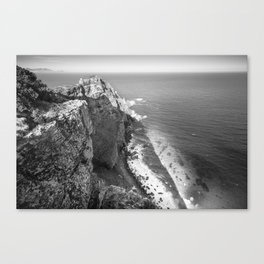 Cliffs along Cape Point, South Africa Canvas Print