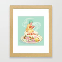 Cure for the common cold Framed Art Print
