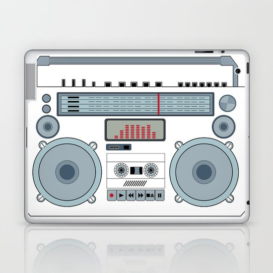 boombox  v1 Laptop & iPad Skin