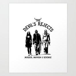 The Devil's Rejects Art Print