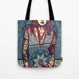 Rubino Red Lady Tote Bag
