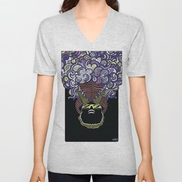 Captain Murphy Illustration Unisex V-Neck