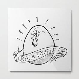 Egg-scelent Metal Print