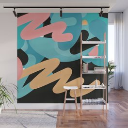 födelse | modern art print Wall Mural
