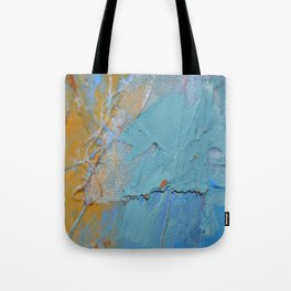 Passage through Nets Tote Bag