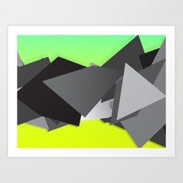 Spacejunk Art Print
