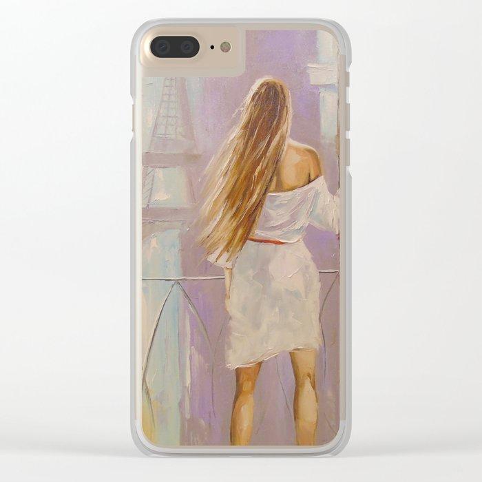Parisian Clear iPhone Case