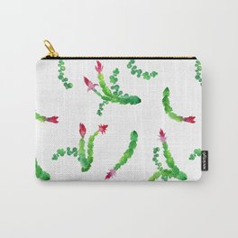 Watercolor cactuses and succulents Carry-All Pouch