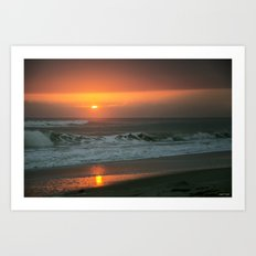 Ocean Sunrise Art Print
