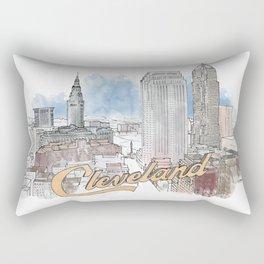 Cleveland, Ohio Rectangular Pillow
