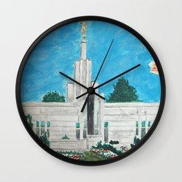 The Hague Netherlands LDS Temple Wall Clock