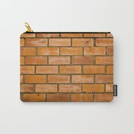 Background of red brick wall pattern texture. Great for graffiti inscriptions. Carry-All Pouch