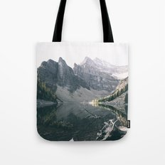 Lake Agnes Tote Bag