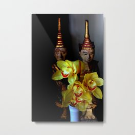 Out From The Shadows Metal Print