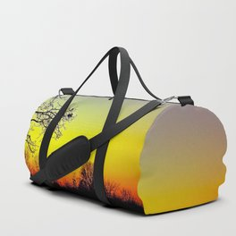 Metamora, Michigan Fall Sun Duffle Bag