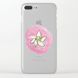 Jonquil Clear iPhone Case