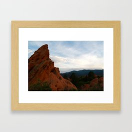 Beyond The Dry Places  Framed Art Print