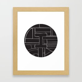 Circle I Framed Art Print