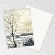 Winter Sky Stationery Cards