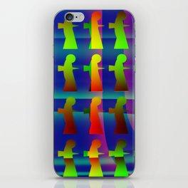 Disruptive element iPhone Skin