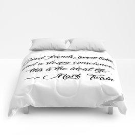 Quote 1 Comforters