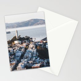 Coit Tower - San Francisco, CA Stationery Cards