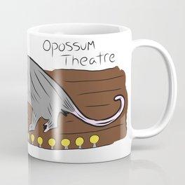 Opossum Theatre Coffee Mug