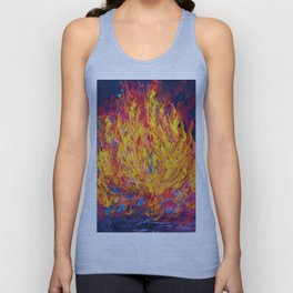 Fire and Passion - Here's to New Beginnings Unisex Tank Top