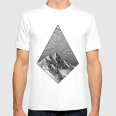 Over the Edge Mens Fitted Tee White SMALL