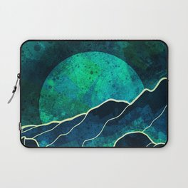 As a new moon rises Laptop Sleeve