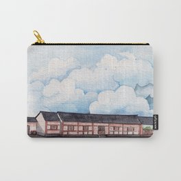 Clouds watercolor illustration Carry-All Pouch