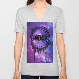 Galaxy Shine Unisex V-Neck