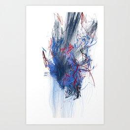 Unwelcome Gaze – Facebook 11 Art Print