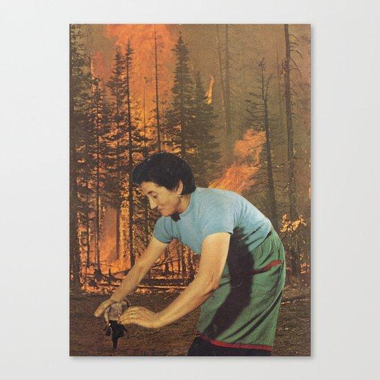 Smokey the Housewife Canvas Print