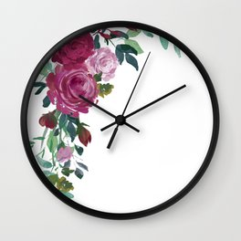 Floral Arrangement 2 Wall Clock