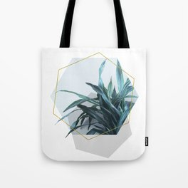 Geometric Jungle Tote Bag