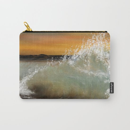 Sea Waves 2 Carry-All Pouch