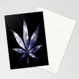 Weed : High Times dark blue Galaxy Stationery Cards