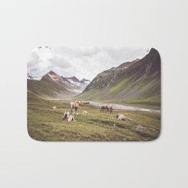 Tyrolean Haflinger horses I Bath Mat