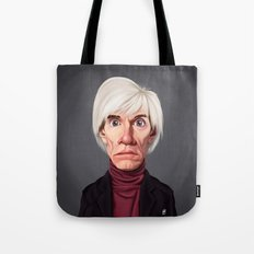 Celebrity Sunday ~ Andy Warhola Tote Bag