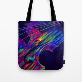 Neon Viola Pride Tote Bag