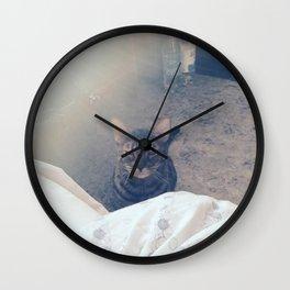 wake up, human Wall Clock