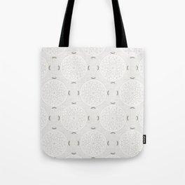 Snow Rosette Lace Tote Bag
