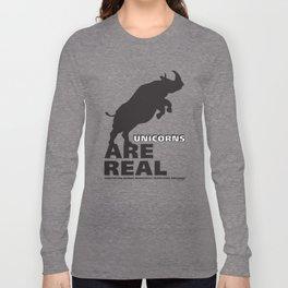 Unicorns Are Real 2 Long Sleeve T-shirt