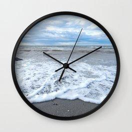 The Sea at my Feet Wall Clock