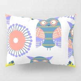 Owls pattern 2 Pillow Sham