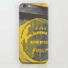 Jameson barrel art print iPhone Case